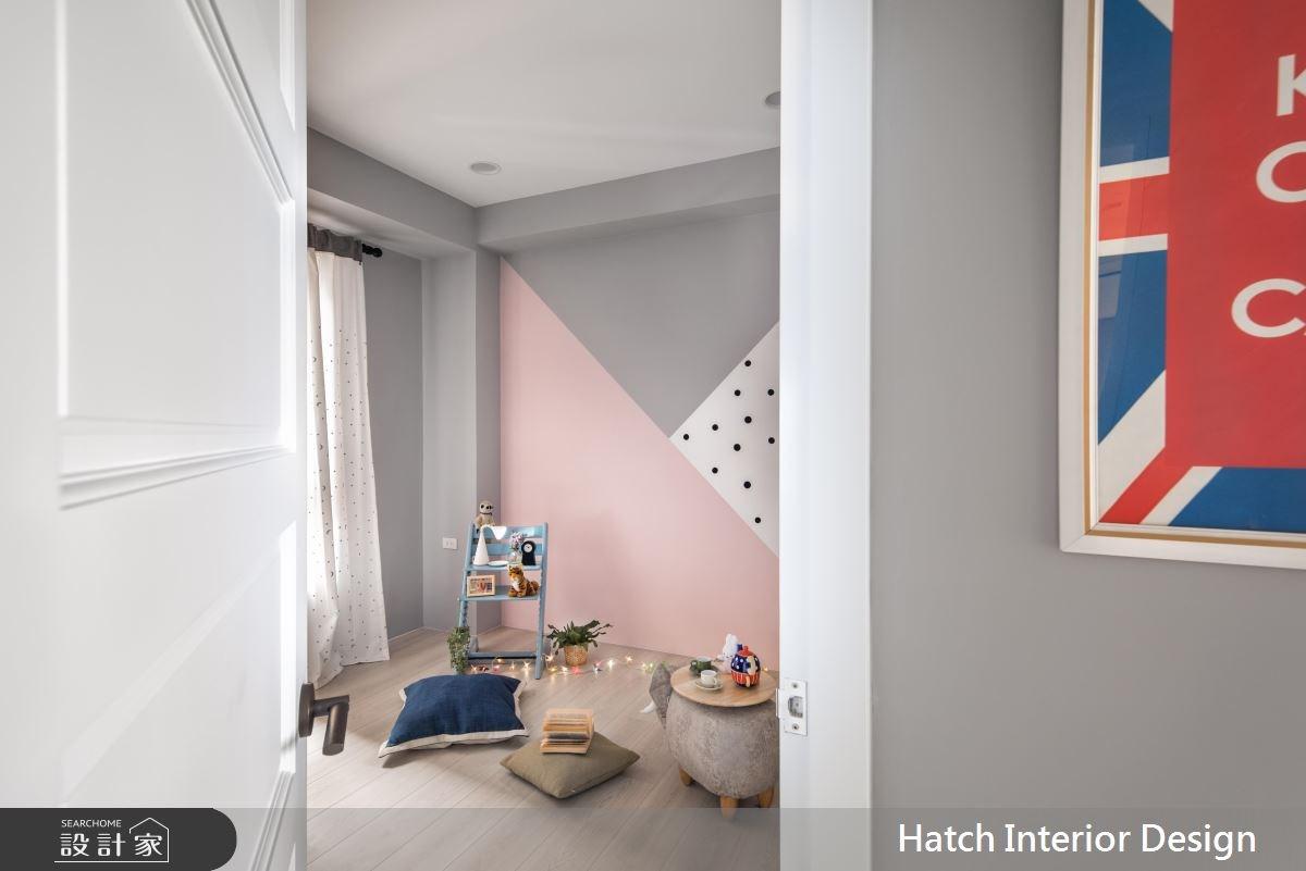 30坪新成屋(5年以下)_北歐風臥室案例圖片_合砌設計有限公司_合砌_彩框之12