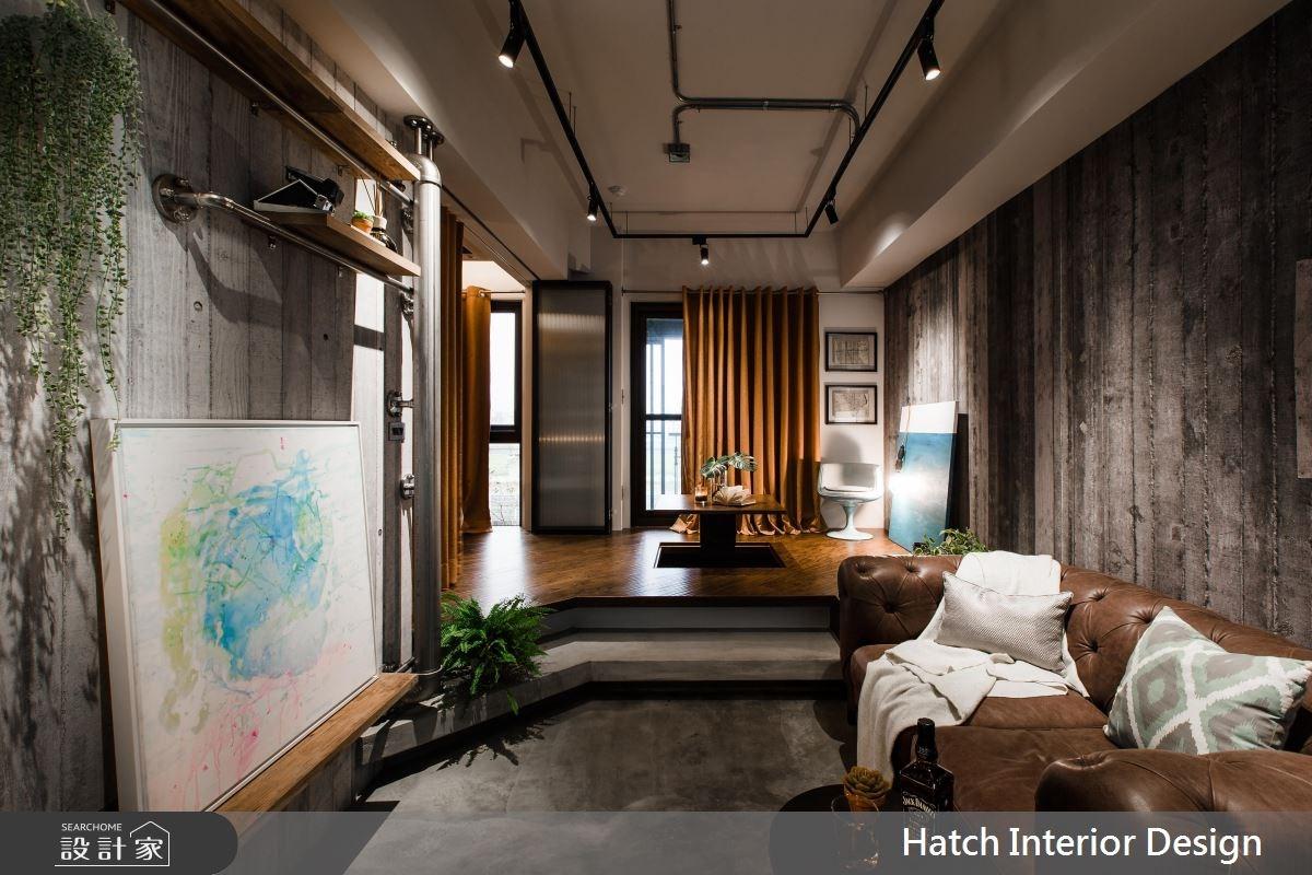 11坪新成屋(5年以下)_工業風客廳案例圖片_合砌設計有限公司_合砌_慵懶之3