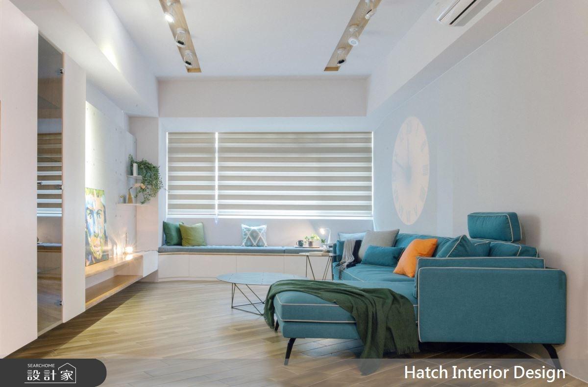 28坪新成屋(5年以下)_現代風客廳案例圖片_合砌設計有限公司_合砌_隨心之4