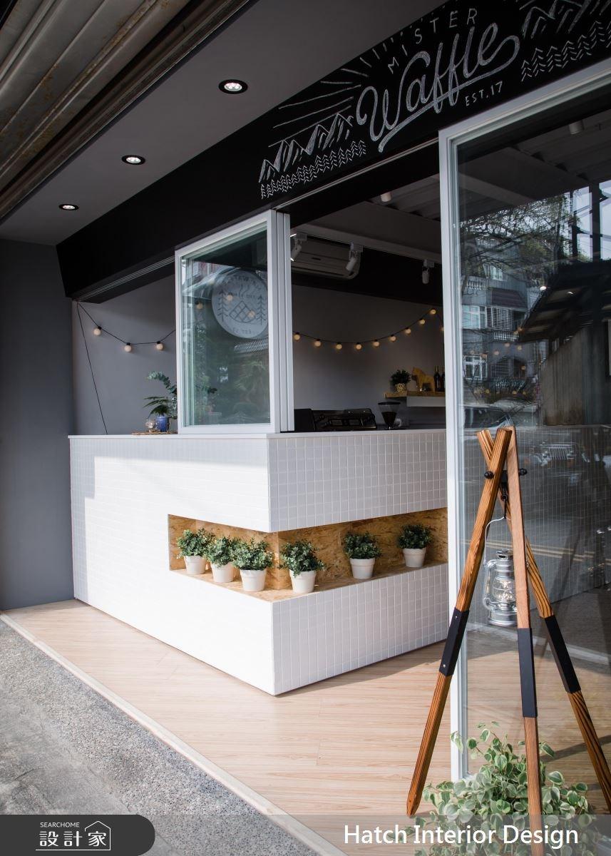 20坪老屋(16~30年)_現代風商業空間案例圖片_合砌設計有限公司_合砌_Mr.Waffle之3