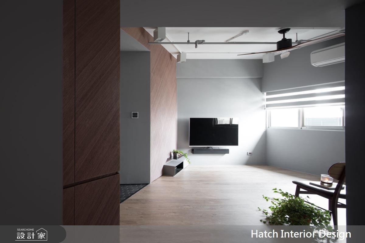 25坪老屋(16~30年)_現代風客廳案例圖片_合砌設計有限公司_合砌_寧靜之2
