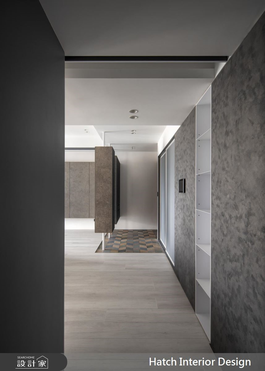 32坪新成屋(5年以下)_現代風玄關案例圖片_合砌設計有限公司_合砌_序列之3