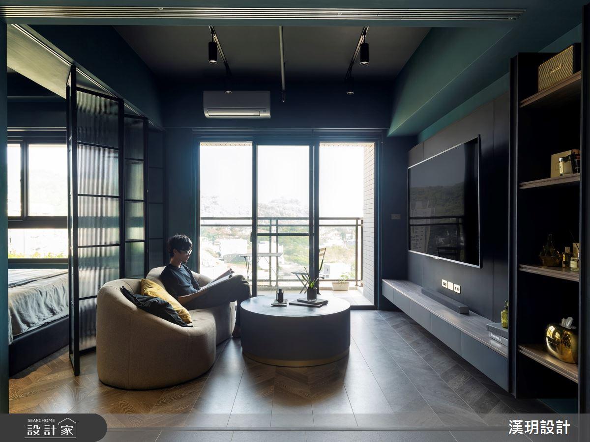 20坪新成屋(5年以下)_混搭風客廳案例圖片_漢玥室內裝修設計有限公司_漢玥_08之3