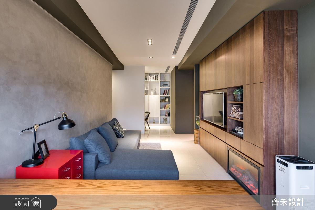 20坪預售屋_北歐風客廳案例圖片_齊禾設計有限公司_齊禾_15之2
