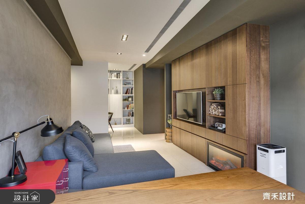 20坪預售屋_北歐風客廳案例圖片_齊禾設計有限公司_齊禾_15之4