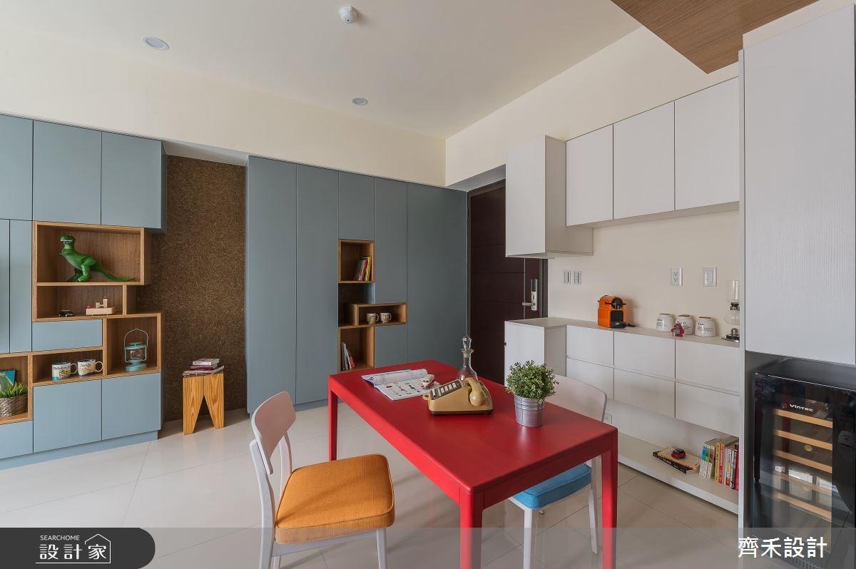 22坪新成屋(5年以下)_北歐風餐廳案例圖片_齊禾設計有限公司_齊禾_16之8
