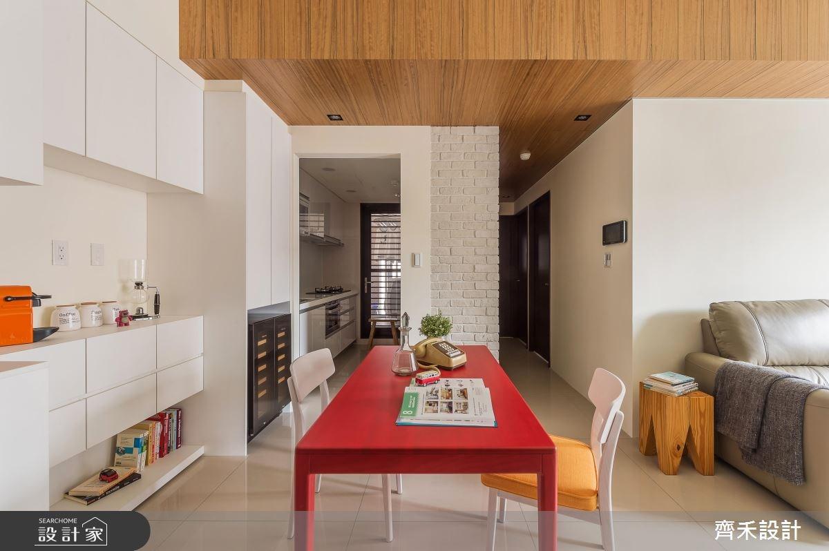 22坪新成屋(5年以下)_北歐風餐廳案例圖片_齊禾設計有限公司_齊禾_16之12
