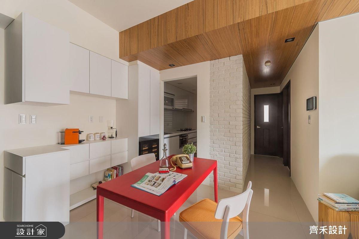 22坪新成屋(5年以下)_北歐風餐廳案例圖片_齊禾設計有限公司_齊禾_16之11