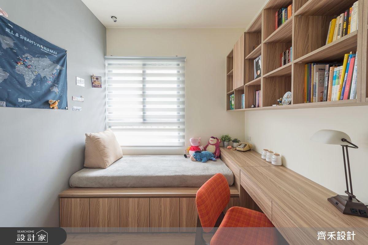 22坪新成屋(5年以下)_北歐風臥室案例圖片_齊禾設計有限公司_齊禾_16之16