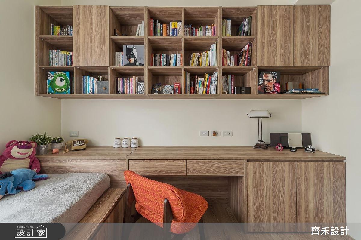 22坪新成屋(5年以下)_北歐風臥室案例圖片_齊禾設計有限公司_齊禾_16之17