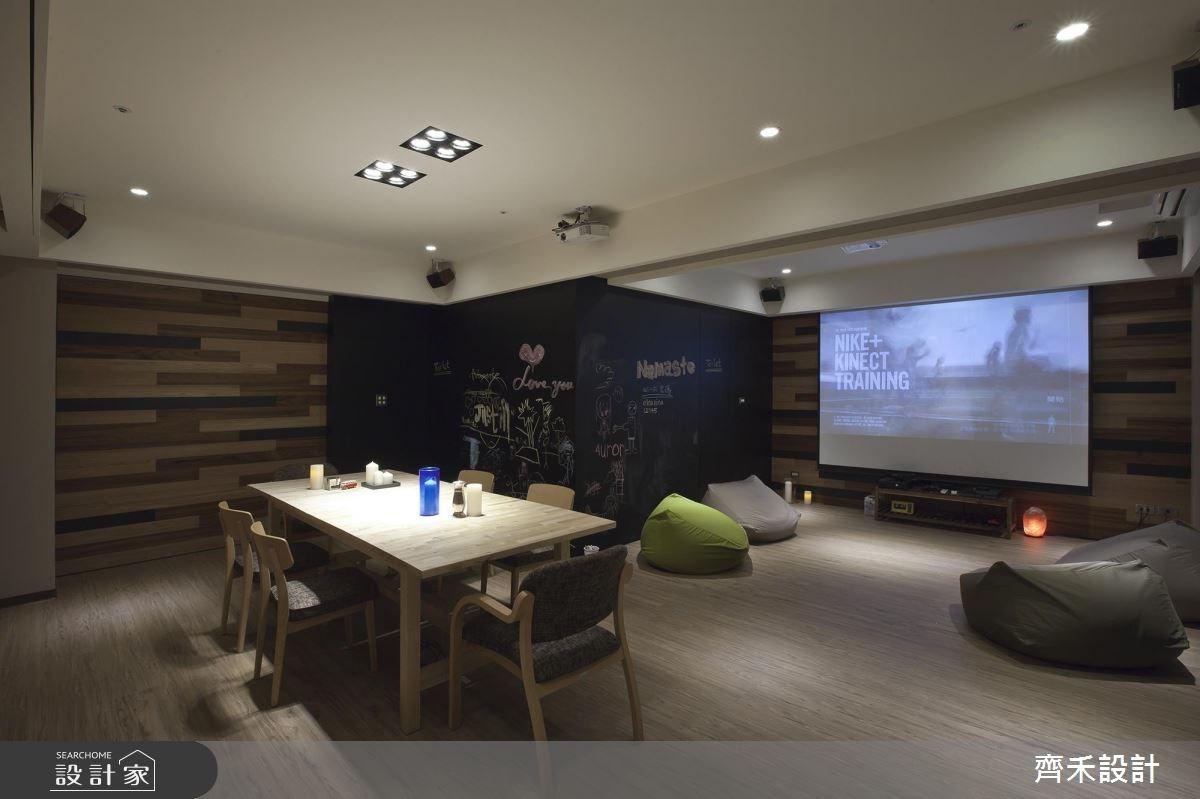 32坪中古屋(5~15年)_休閒風客廳案例圖片_齊禾設計有限公司_齊禾_02之1