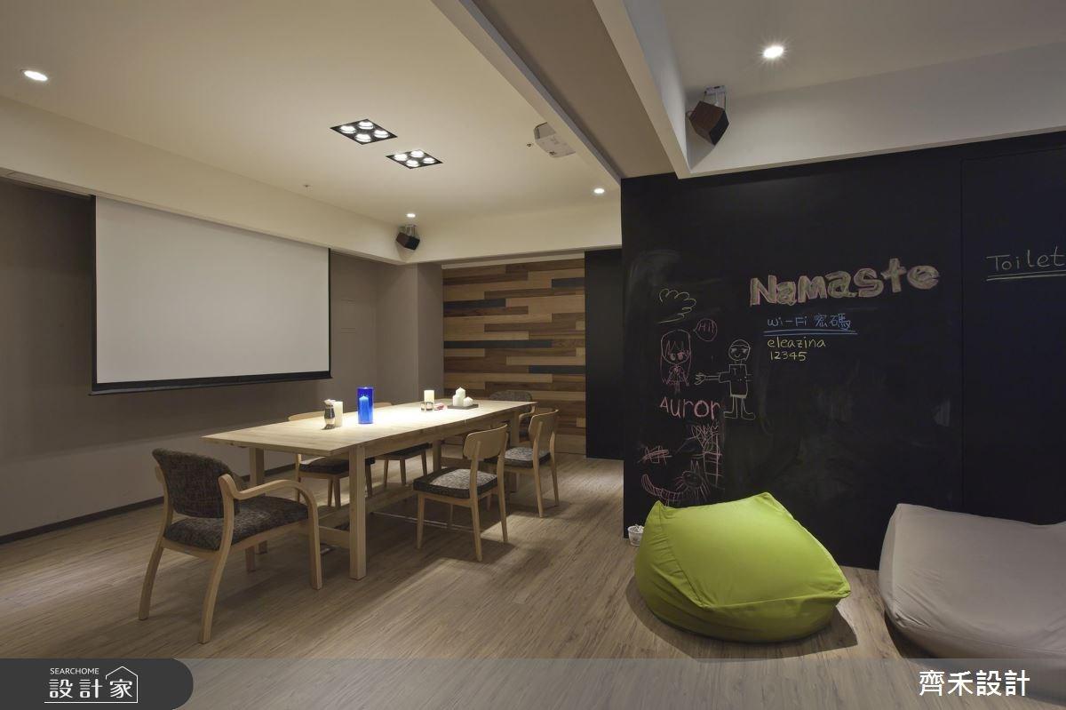 32坪中古屋(5~15年)_休閒風餐廳案例圖片_齊禾設計有限公司_齊禾_02之2