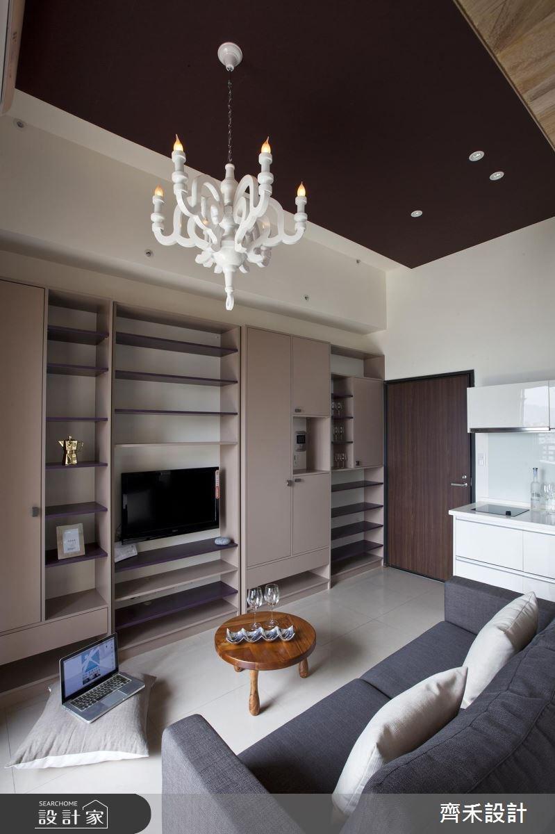 6坪新成屋(5年以下)_現代風客廳案例圖片_齊禾設計有限公司_齊禾_04之2