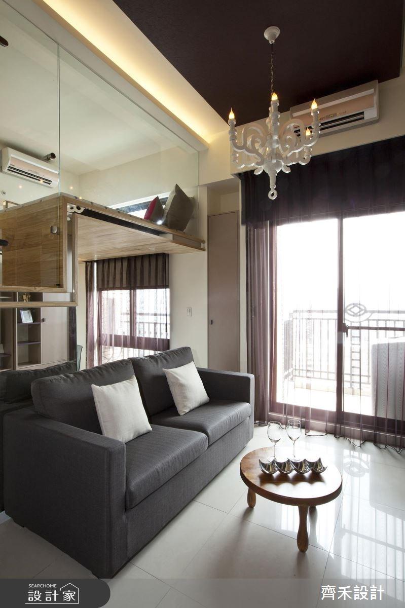 6坪新成屋(5年以下)_現代風客廳案例圖片_齊禾設計有限公司_齊禾_04之4