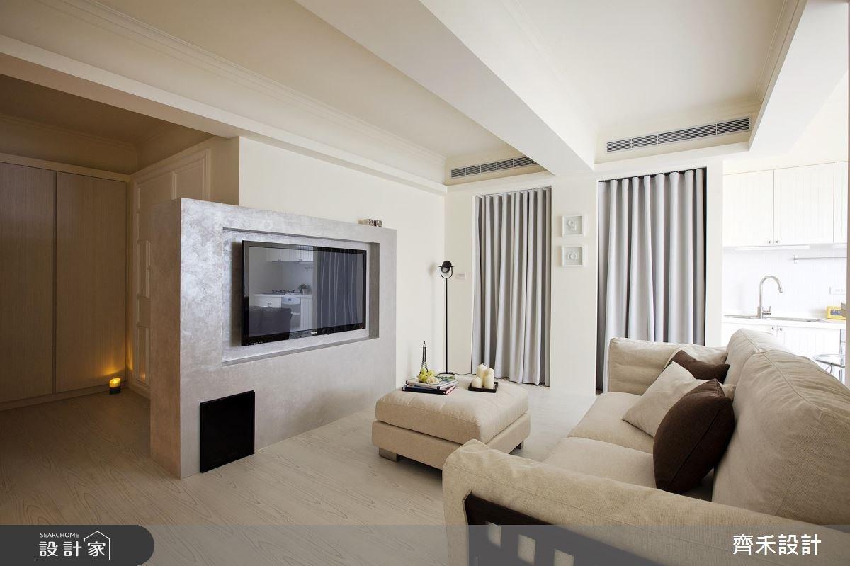 16坪老屋(16~30年)_美式風客廳案例圖片_齊禾設計有限公司_齊禾_06之3