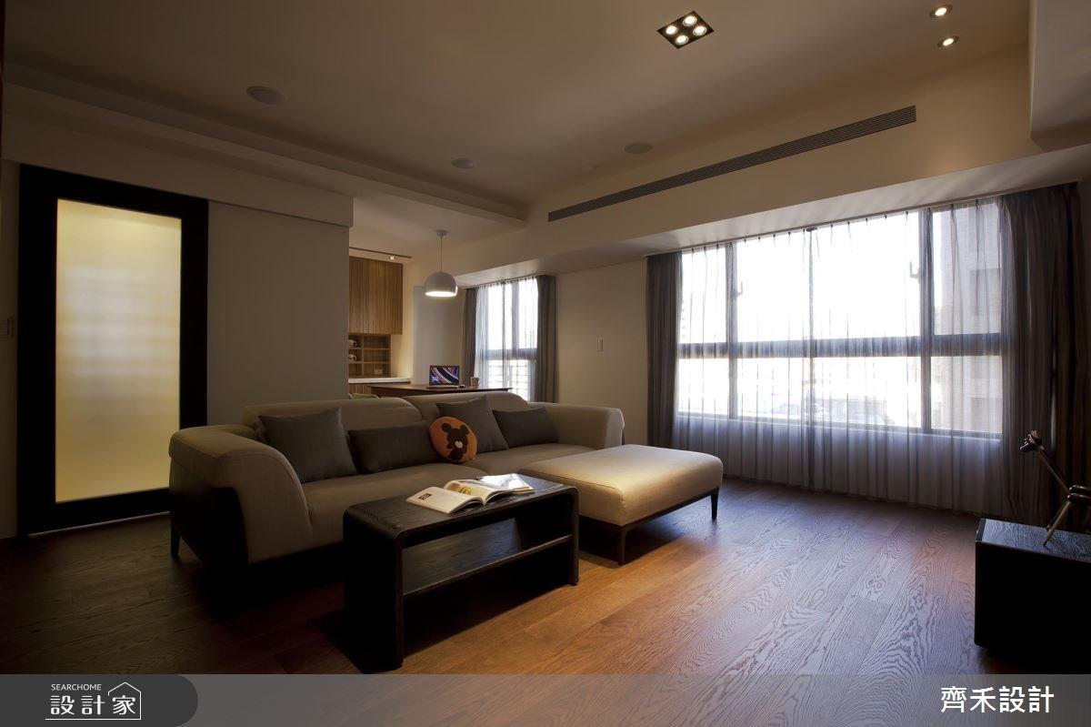 40坪新成屋(5年以下)_現代風客廳案例圖片_齊禾設計有限公司_齊禾_08之1