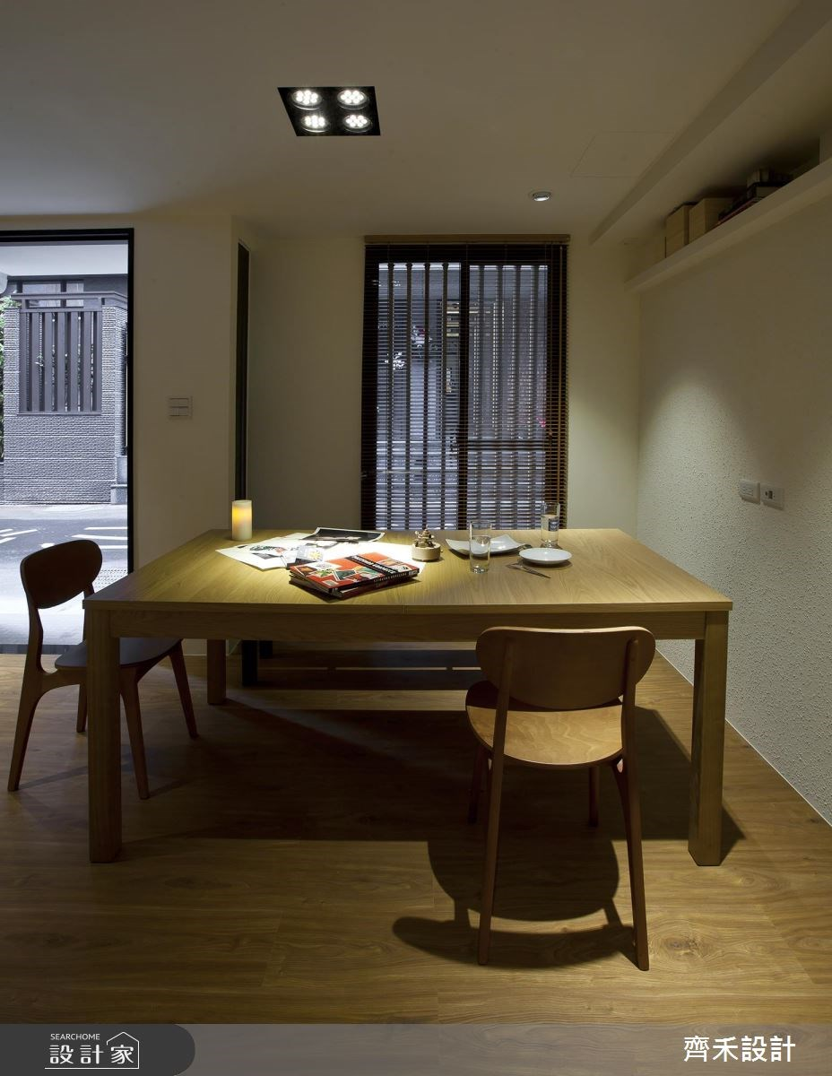 17坪老屋(16~30年)_人文禪風餐廳案例圖片_齊禾設計有限公司_齊禾_09之3