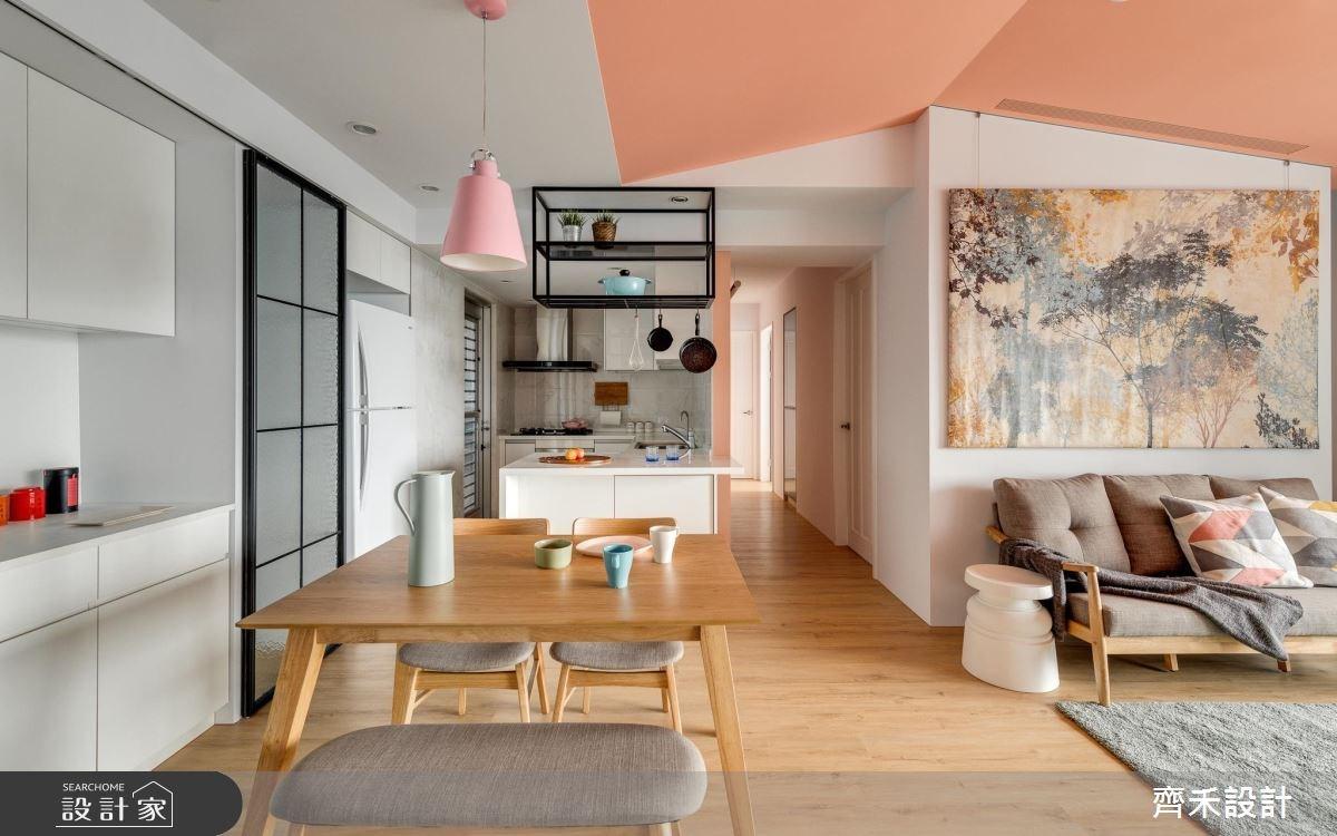 35坪新成屋(5年以下)_休閒風餐廳案例圖片_齊禾設計有限公司_齊禾_20之2