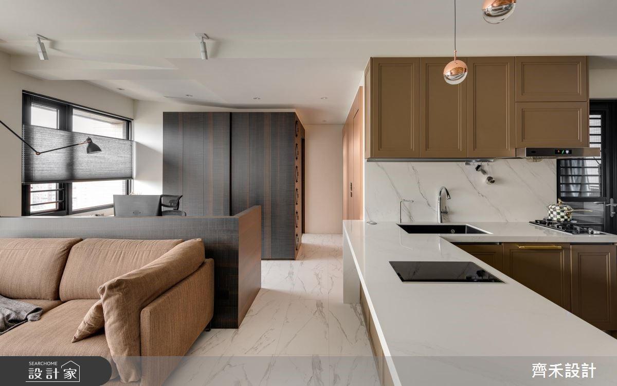 24坪新成屋(5年以下)_現代風客廳餐廳案例圖片_齊禾設計有限公司_齊禾_26之4