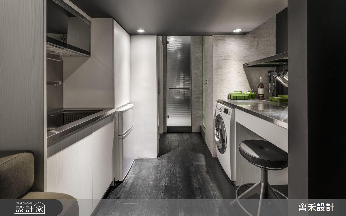 5坪老屋(16~30年)_工業風廚房案例圖片_齊禾設計有限公司_齊禾_27之7