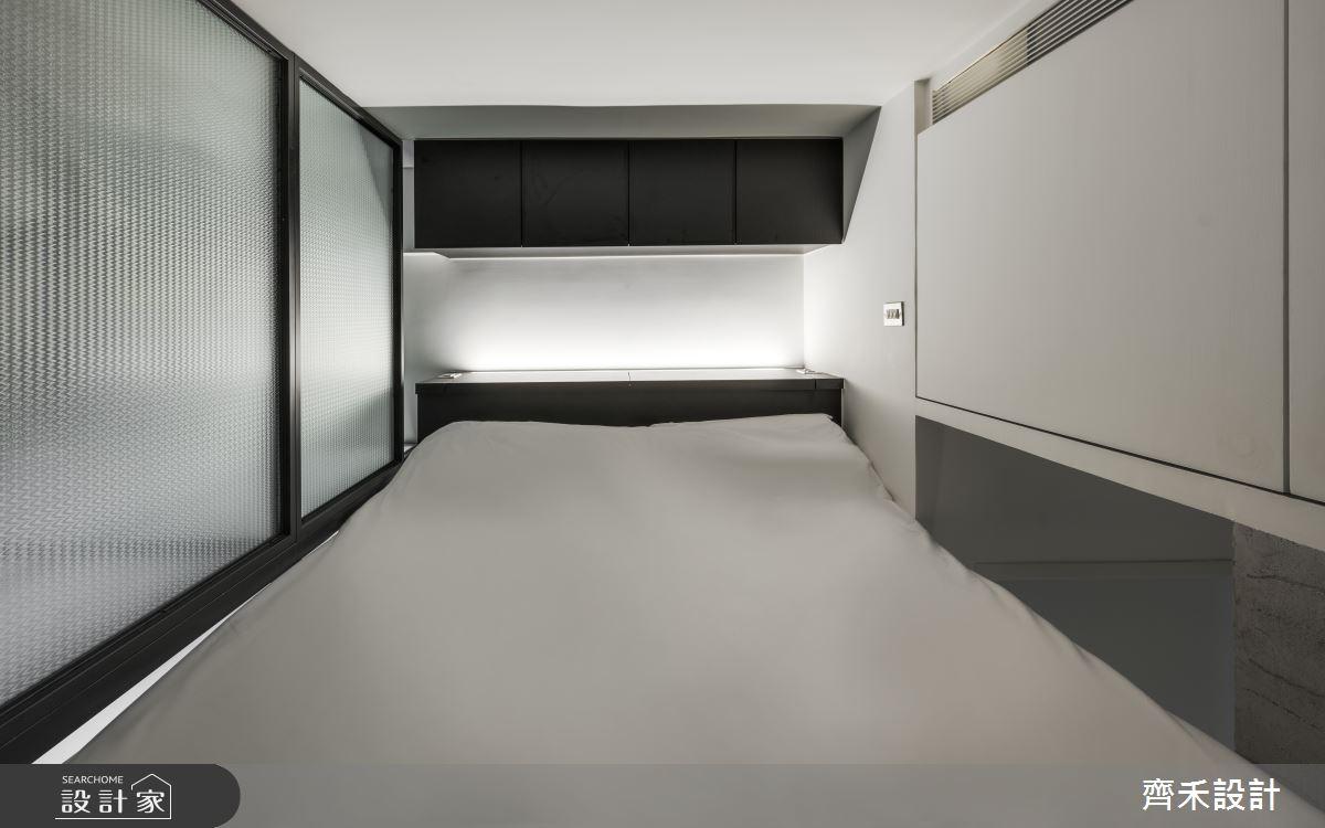5坪老屋(16~30年)_工業風臥室案例圖片_齊禾設計有限公司_齊禾_27之8