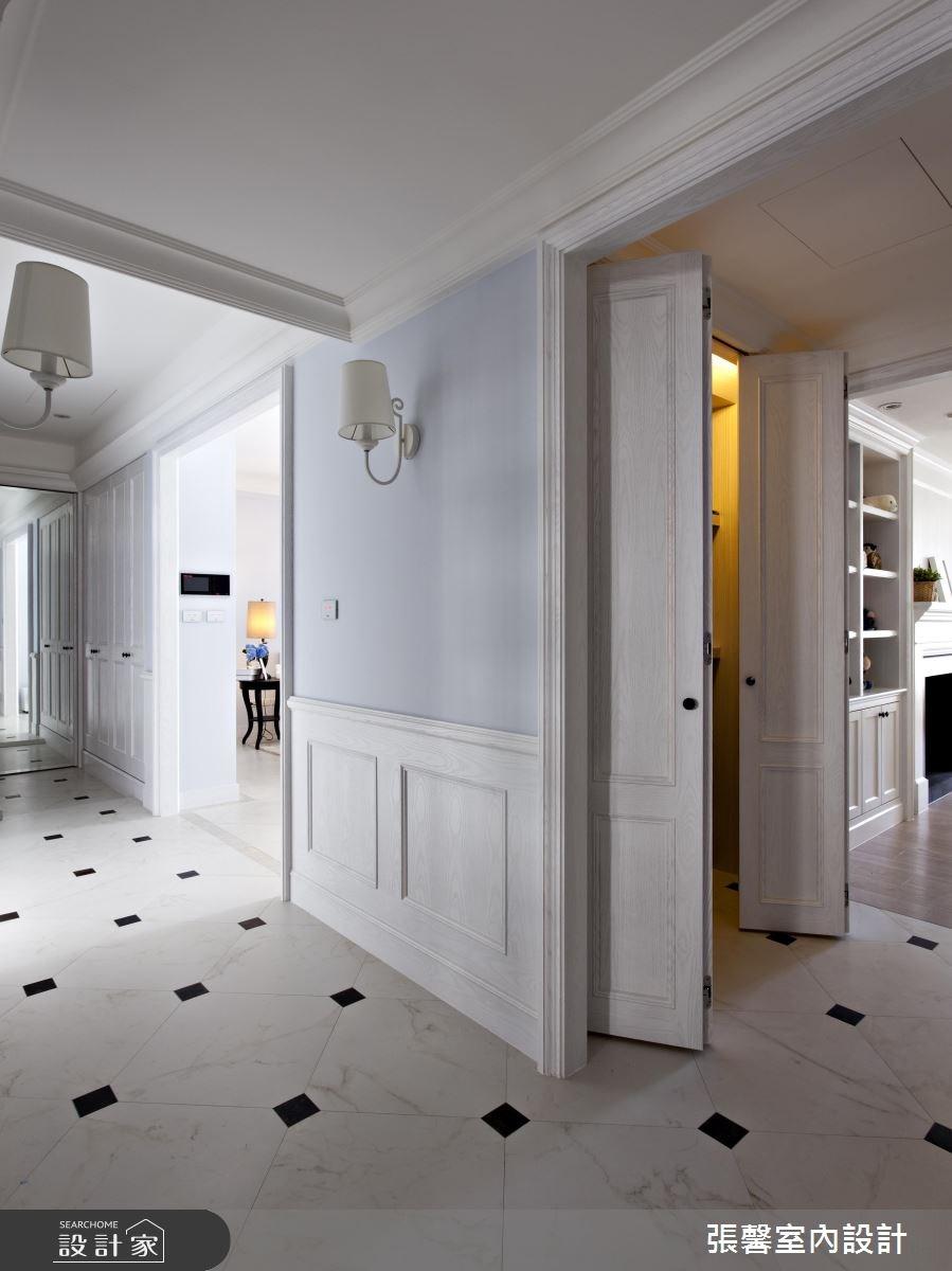 45坪新成屋(5年以下)_美式風走廊案例圖片_瀚觀室內裝修設計工程股份有限公司_張馨_03之7
