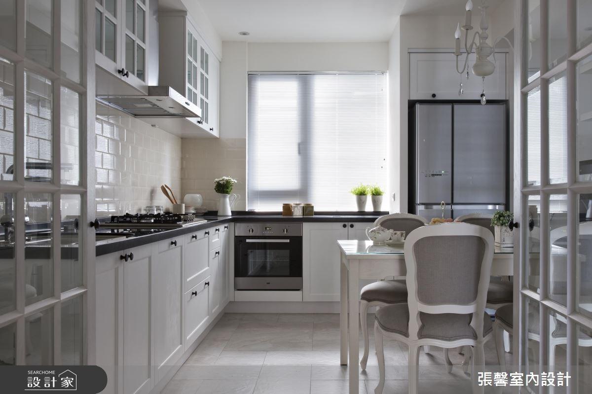45坪新成屋(5年以下)_美式風廚房案例圖片_瀚觀室內裝修設計工程股份有限公司_張馨_03之9