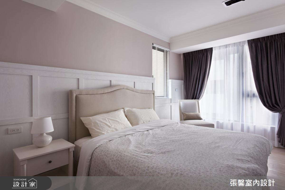45坪新成屋(5年以下)_美式風臥室案例圖片_瀚觀室內裝修設計工程股份有限公司_張馨_03之14