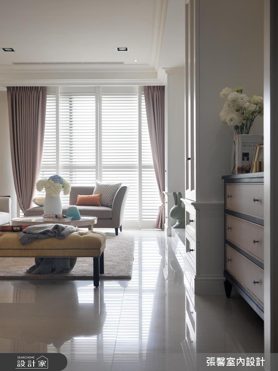 56坪新成屋(5年以下)_美式風客廳案例圖片_瀚觀室內裝修設計工程股份有限公司_張馨_04之1