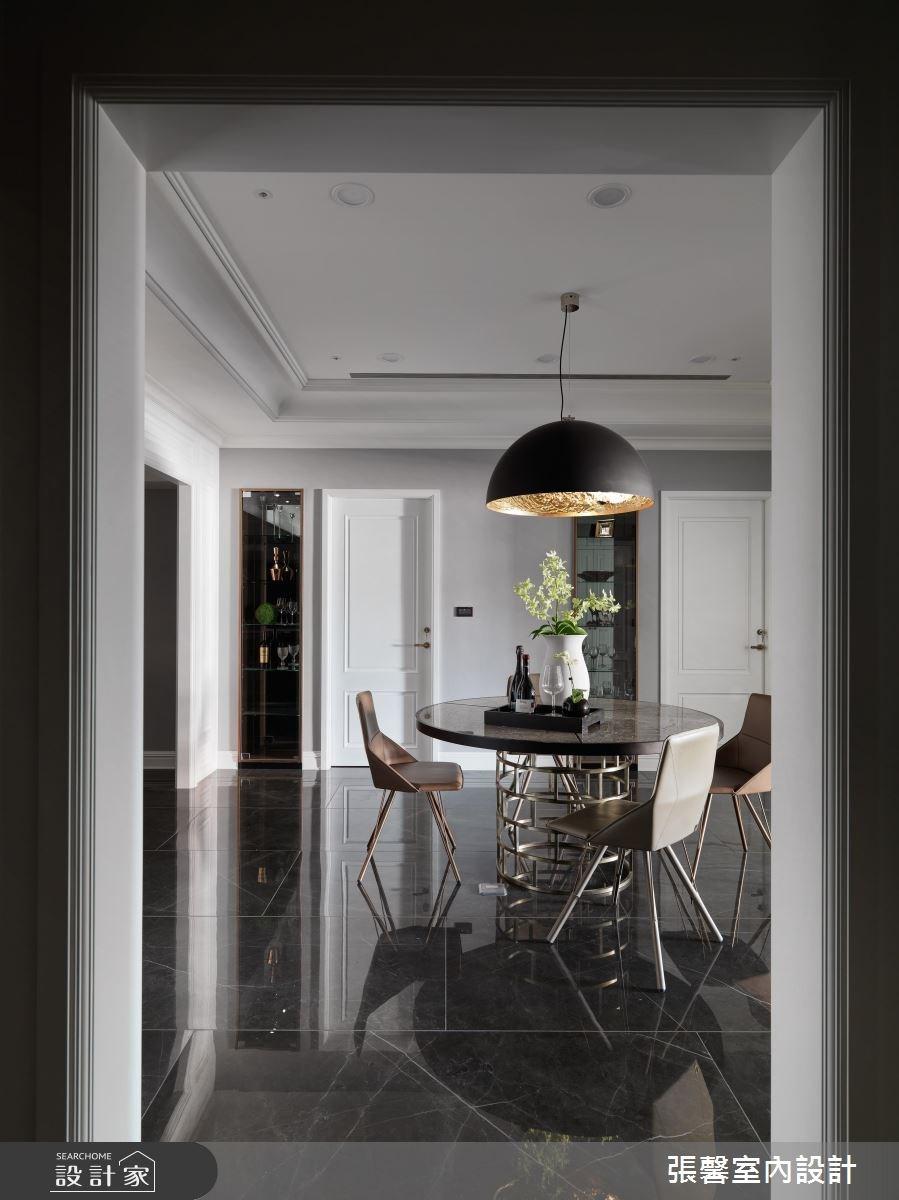 55坪預售屋_現代風餐廳案例圖片_瀚觀室內裝修設計工程股份有限公司_張馨_09之4