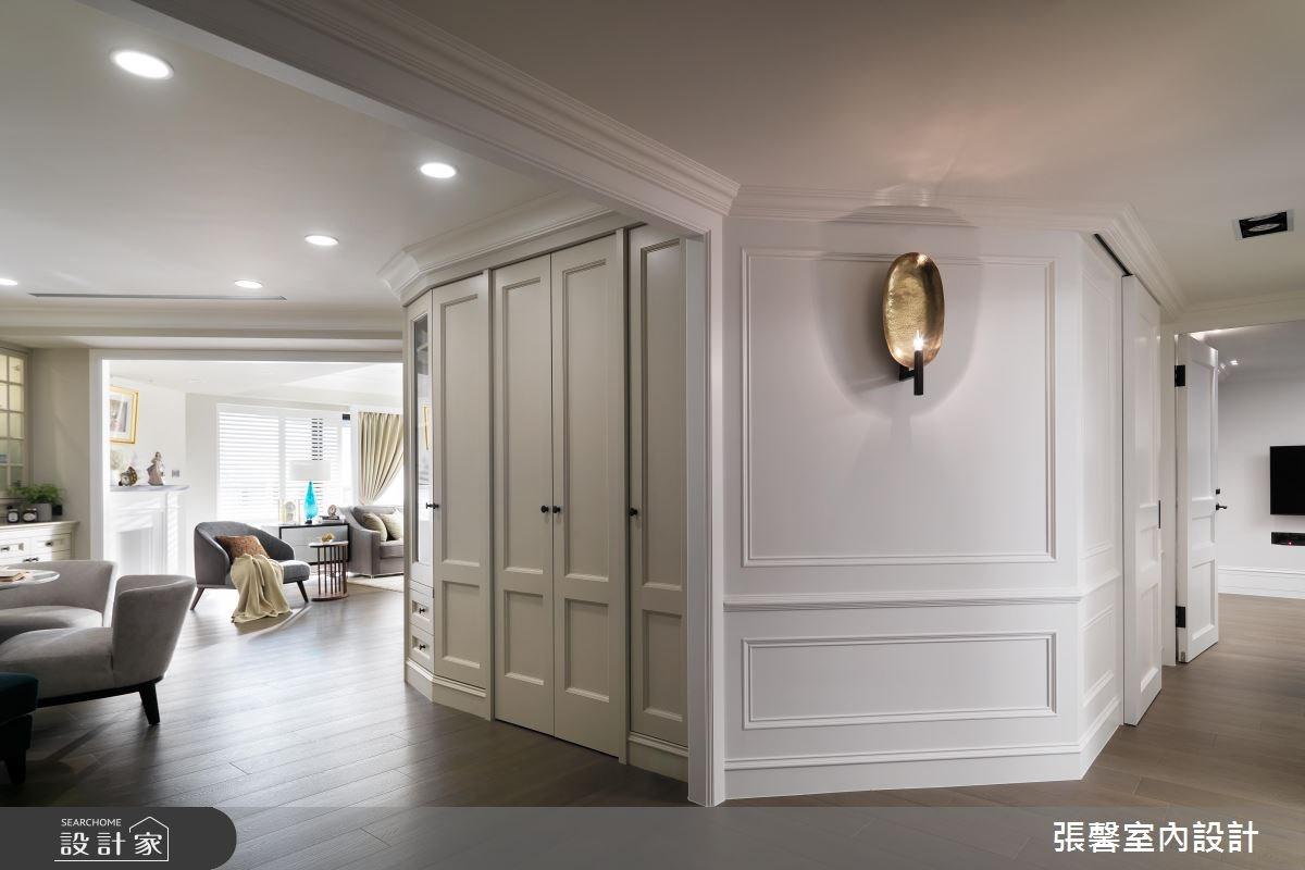 63坪新成屋(5年以下)_新古典走廊案例圖片_瀚觀室內裝修設計工程股份有限公司_張馨_12之3