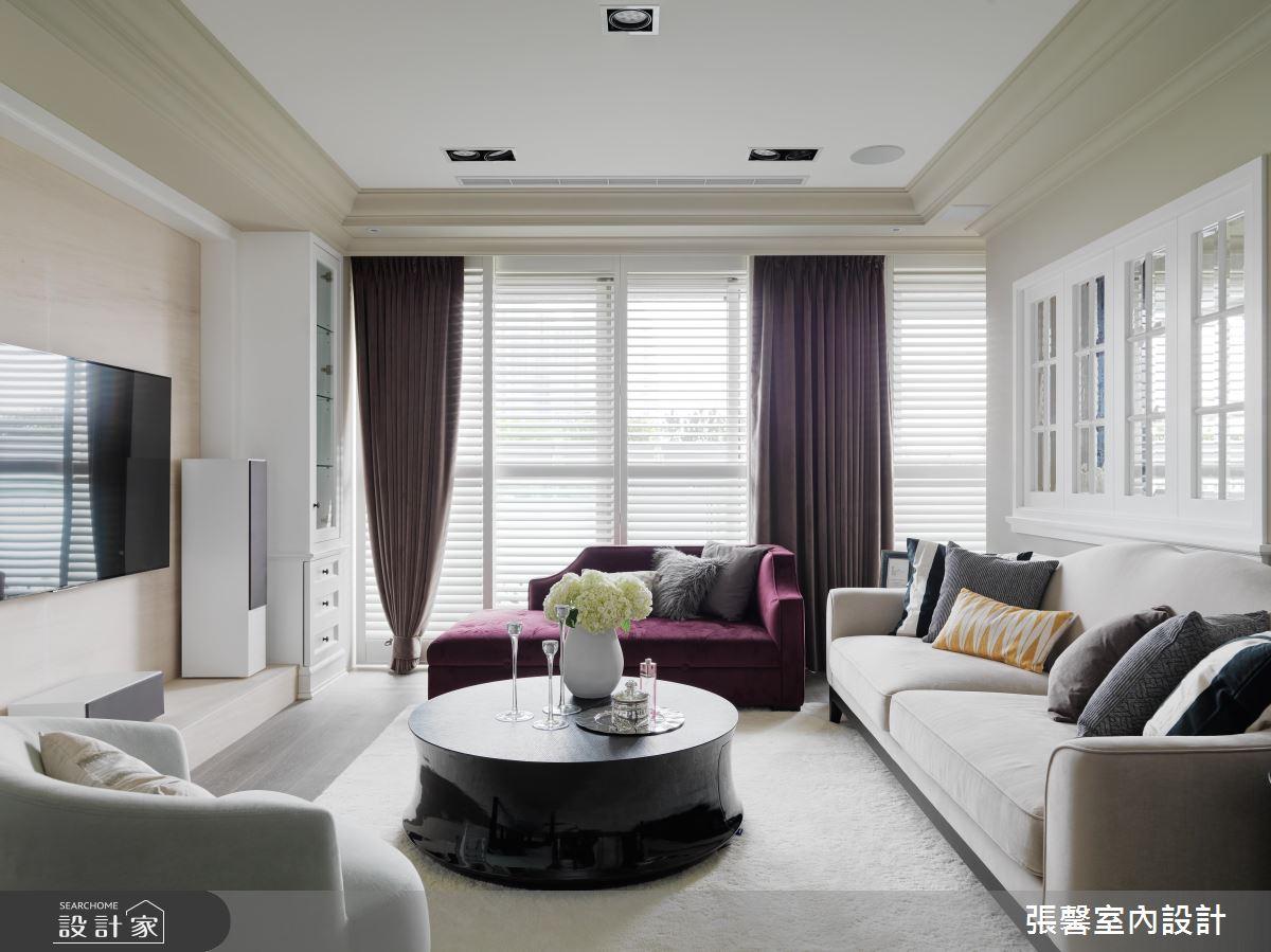 住在這樣的家都優雅起來! 48坪為您打造的純淨美式場景