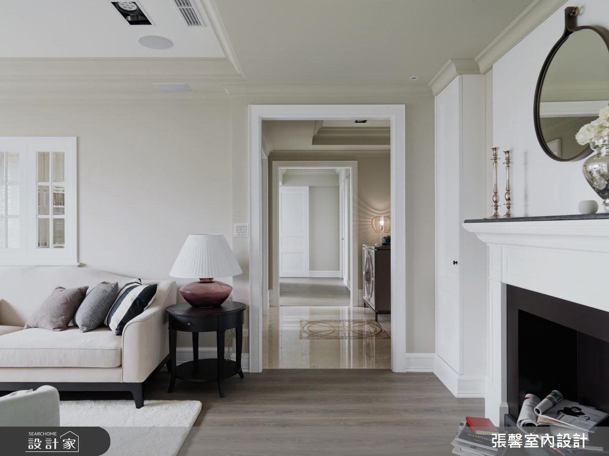 48坪新成屋(5年以下)_美式風客廳案例圖片_瀚觀室內裝修設計工程股份有限公司_張馨_13之3