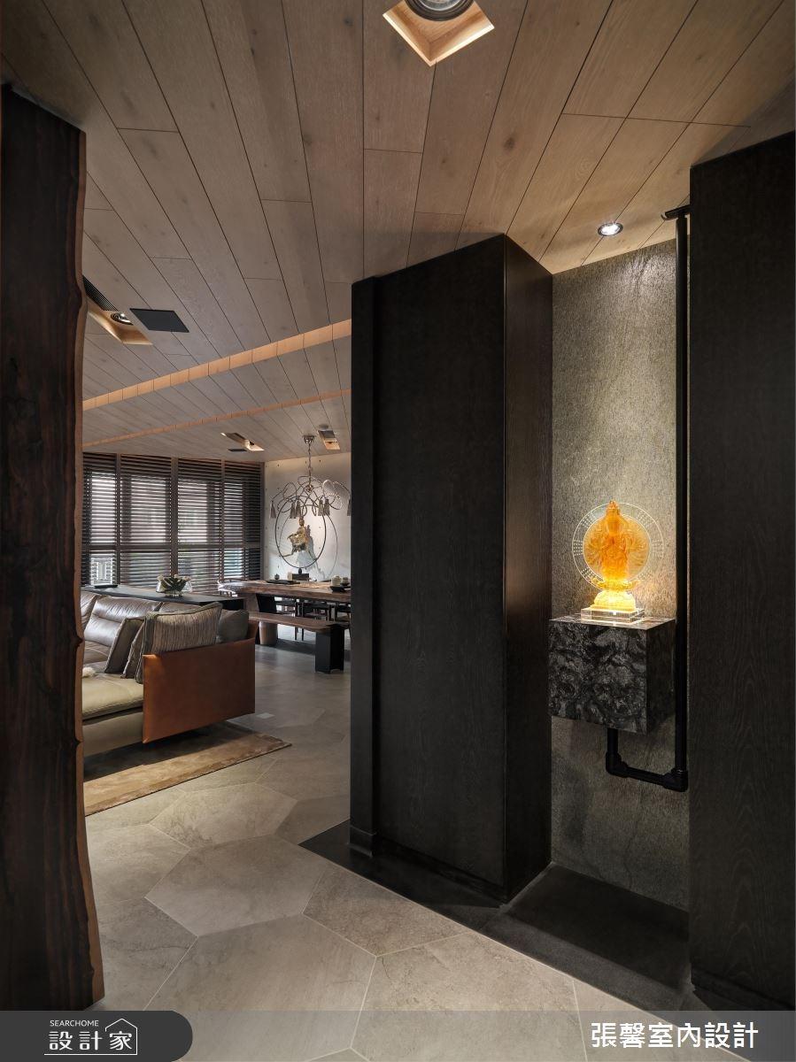 54坪新成屋(5年以下)_混搭風玄關案例圖片_瀚觀室內裝修設計工程股份有限公司_張馨_15之1