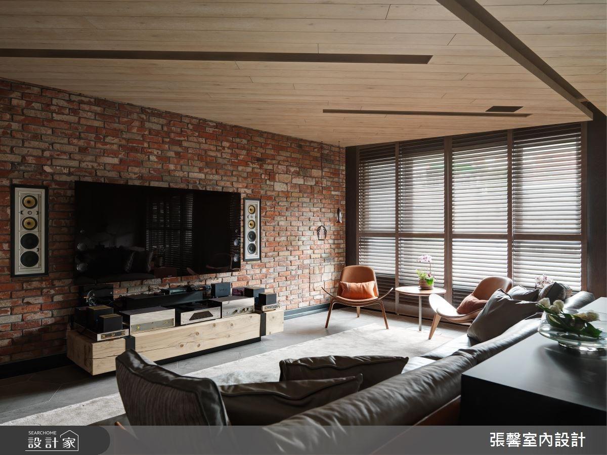 54坪新成屋(5年以下)_混搭風客廳案例圖片_瀚觀室內裝修設計工程股份有限公司_張馨_15之3