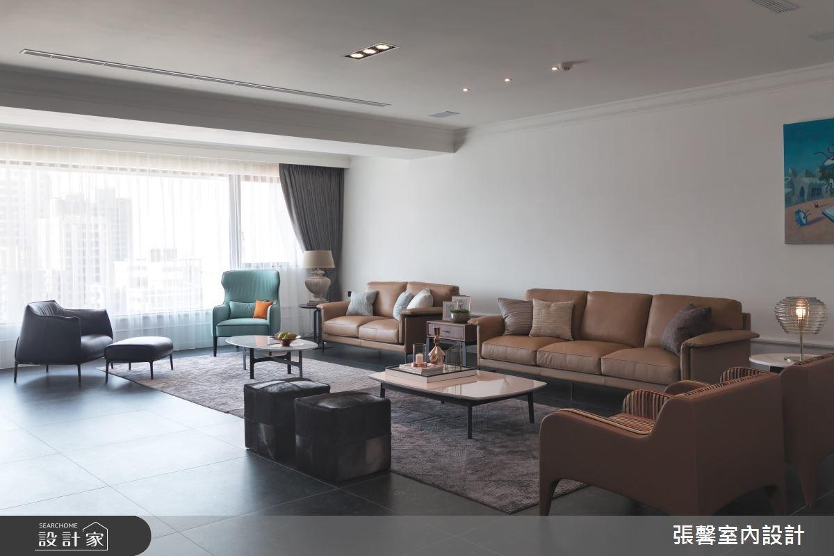 109坪新成屋(5年以下)_現代風客廳案例圖片_瀚觀室內裝修設計工程股份有限公司_張馨_24之3