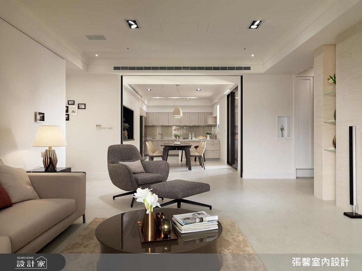 59坪新成屋(5年以下)_美式風客廳案例圖片_瀚觀室內裝修設計工程股份有限公司_張馨_25之1