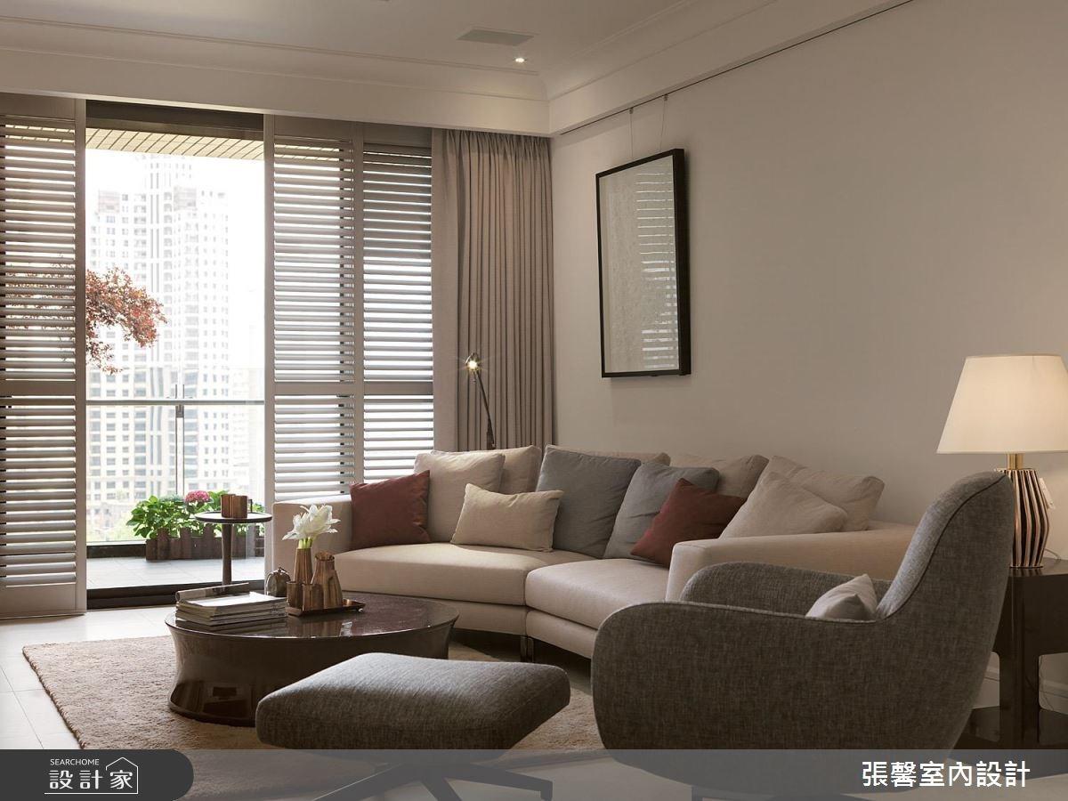 59坪新成屋(5年以下)_美式風客廳案例圖片_瀚觀室內裝修設計工程股份有限公司_張馨_25之3