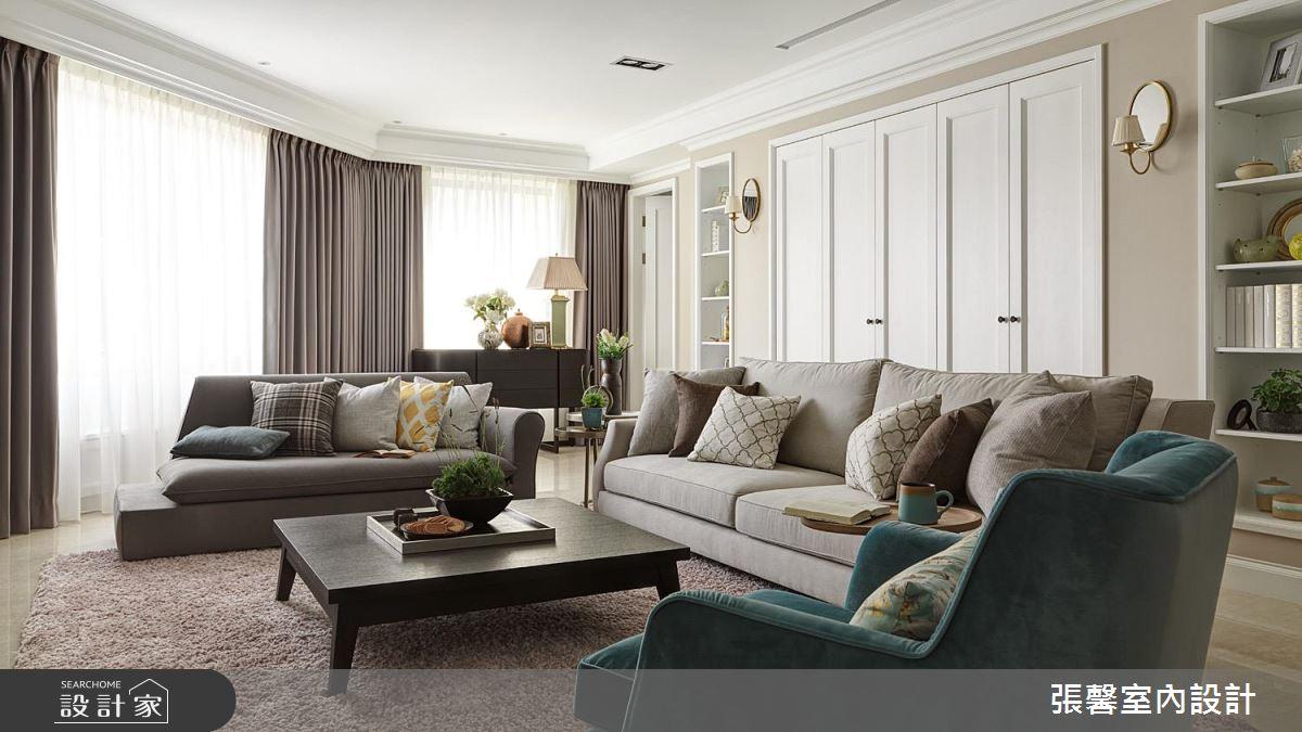我的家是位氣質古典美女!百坪美式宅邸的精緻與雍容