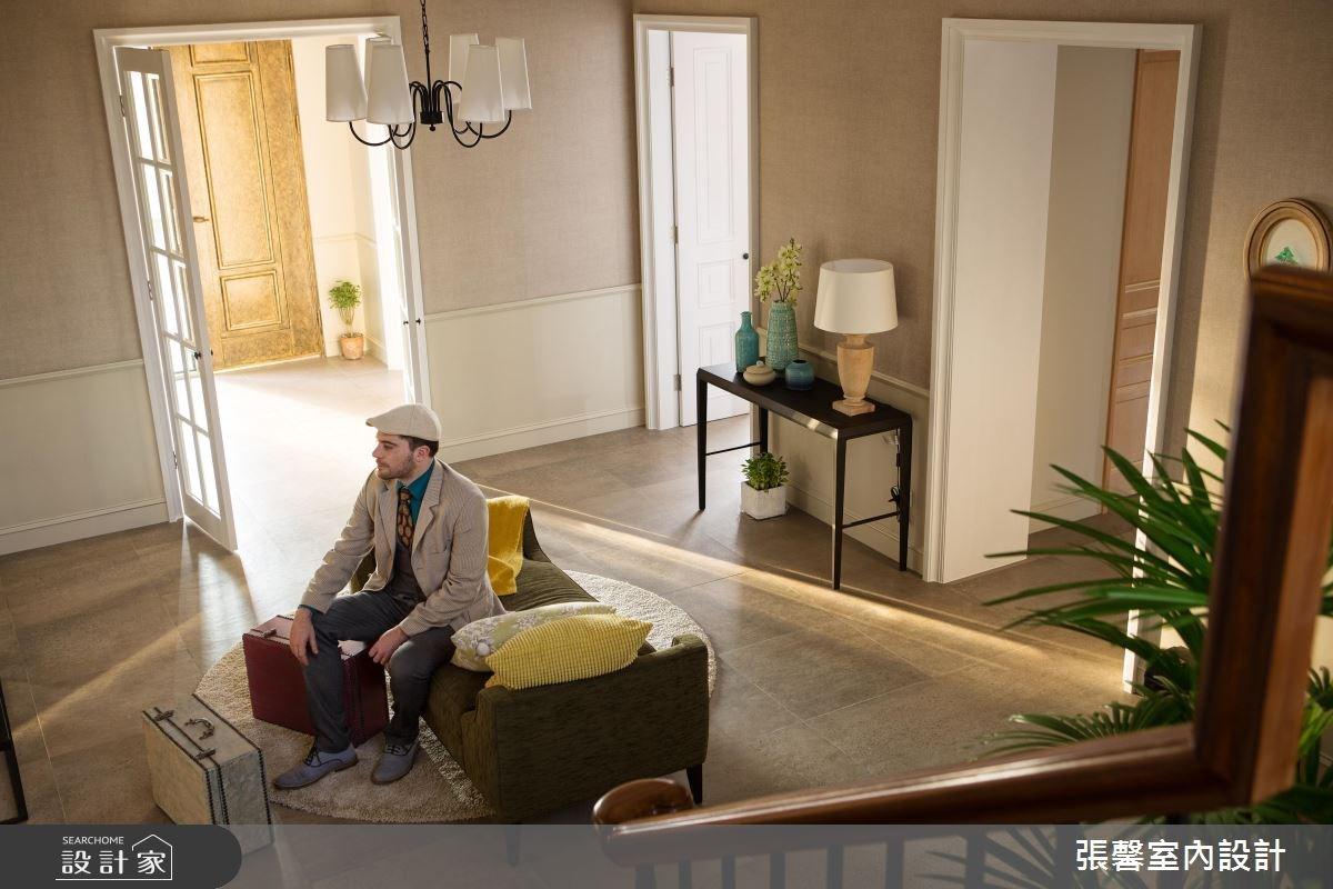 129坪新成屋(5年以下)_美式風玄關案例圖片_瀚觀室內裝修設計工程股份有限公司_張馨_27之4