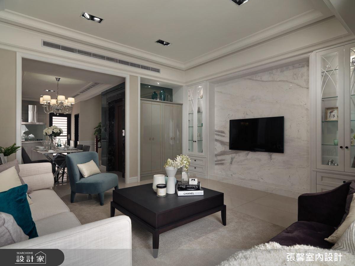 46坪新成屋(5年以下)_新古典客廳案例圖片_瀚觀室內裝修設計工程股份有限公司_張馨_28之2