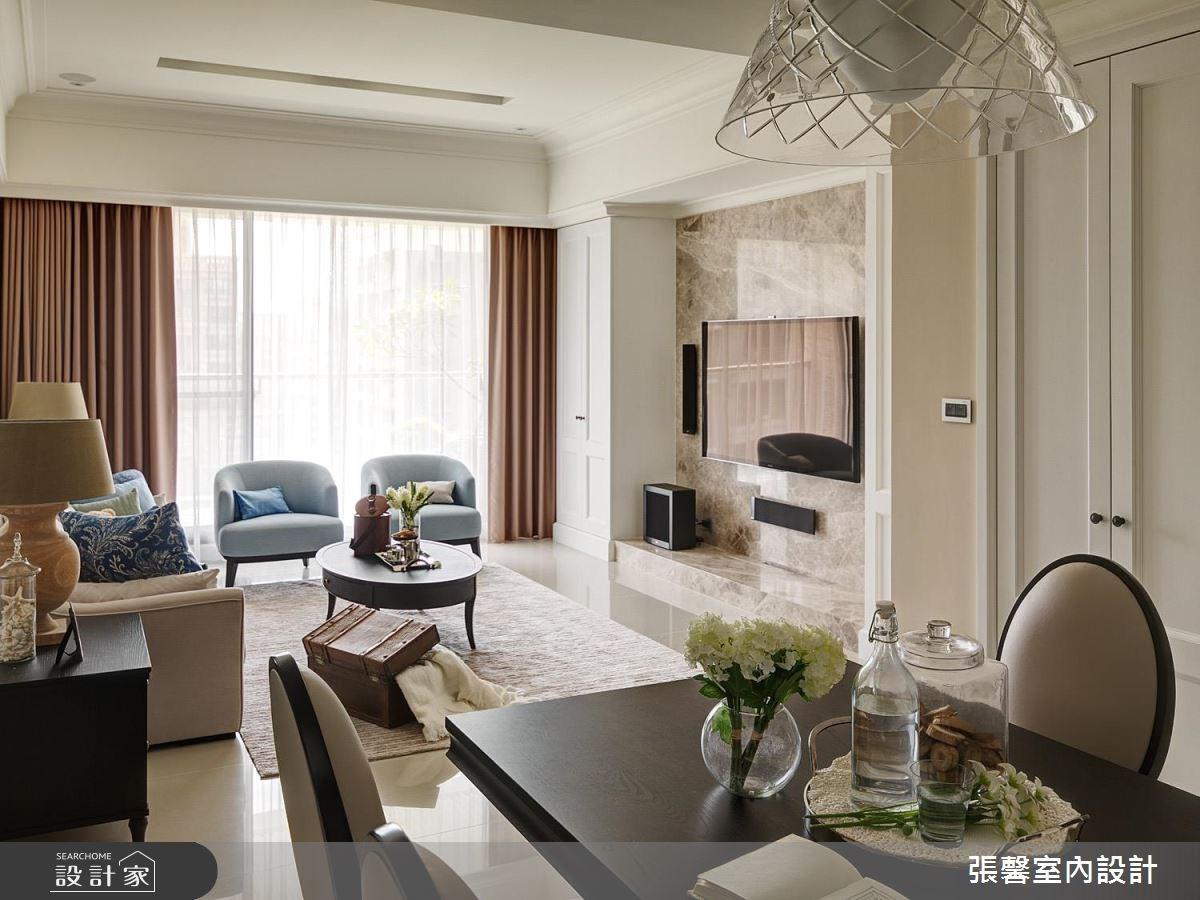 40坪新成屋(5年以下)_美式風客廳案例圖片_瀚觀室內裝修設計工程股份有限公司_張馨_31之3