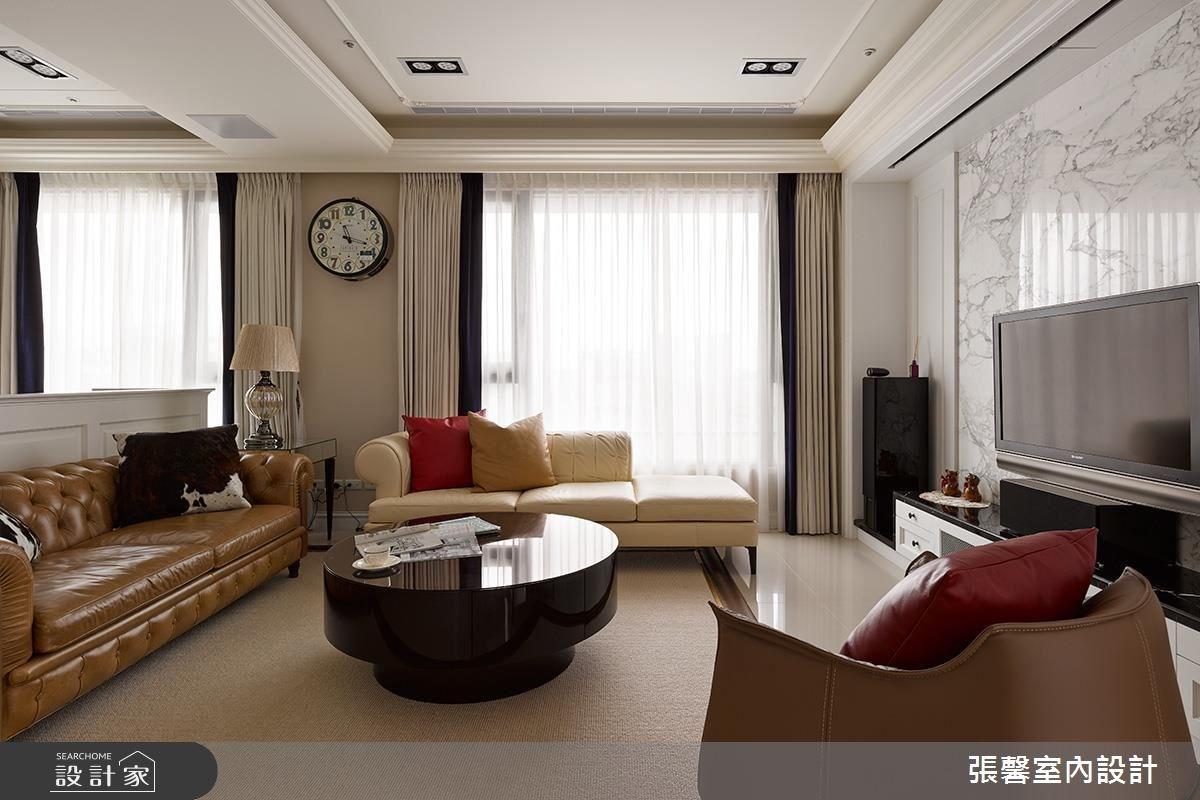 30坪新成屋(5年以下)_美式風客廳案例圖片_瀚觀室內裝修設計工程股份有限公司_張馨_32之1
