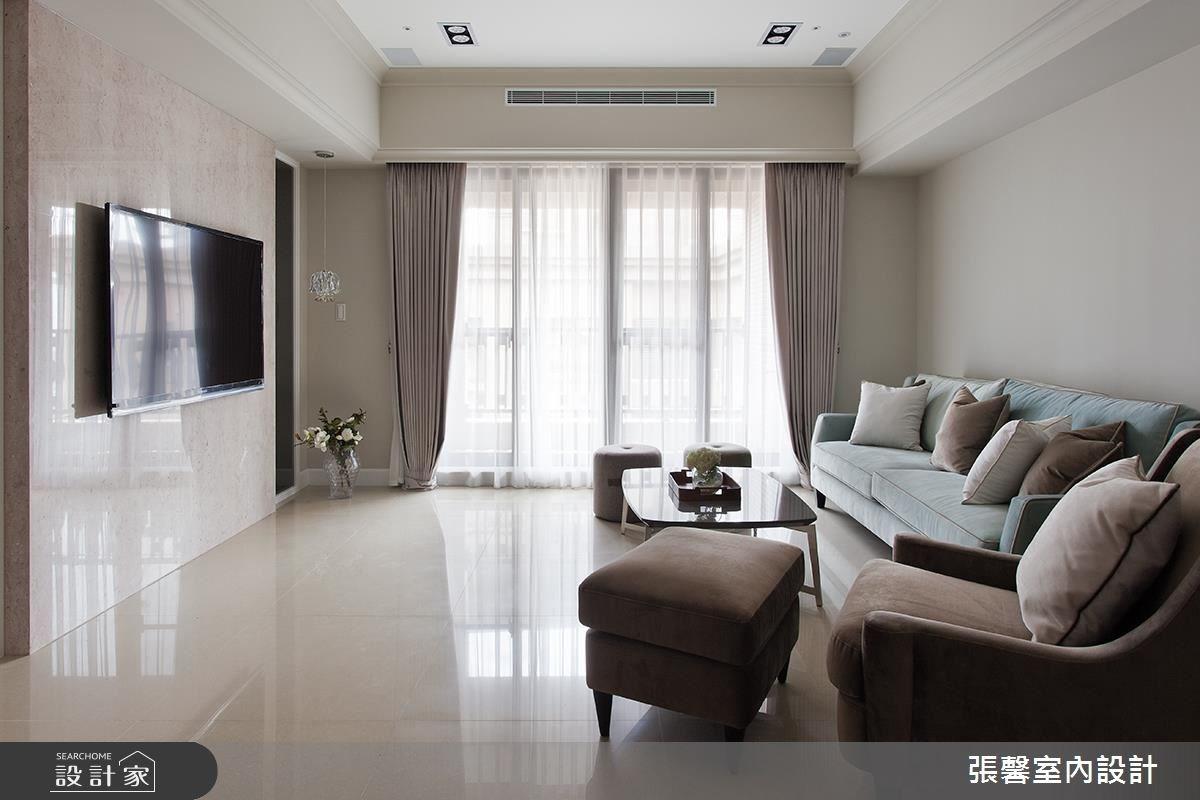 48坪新成屋(5年以下)_美式風客廳案例圖片_瀚觀室內裝修設計工程股份有限公司_張馨_34之3