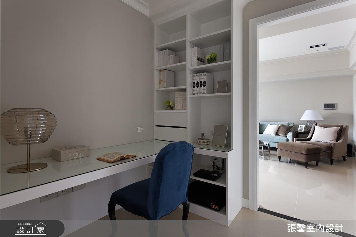 48坪新成屋(5年以下)_美式風書房案例圖片_瀚觀室內裝修設計工程股份有限公司_張馨_34之5