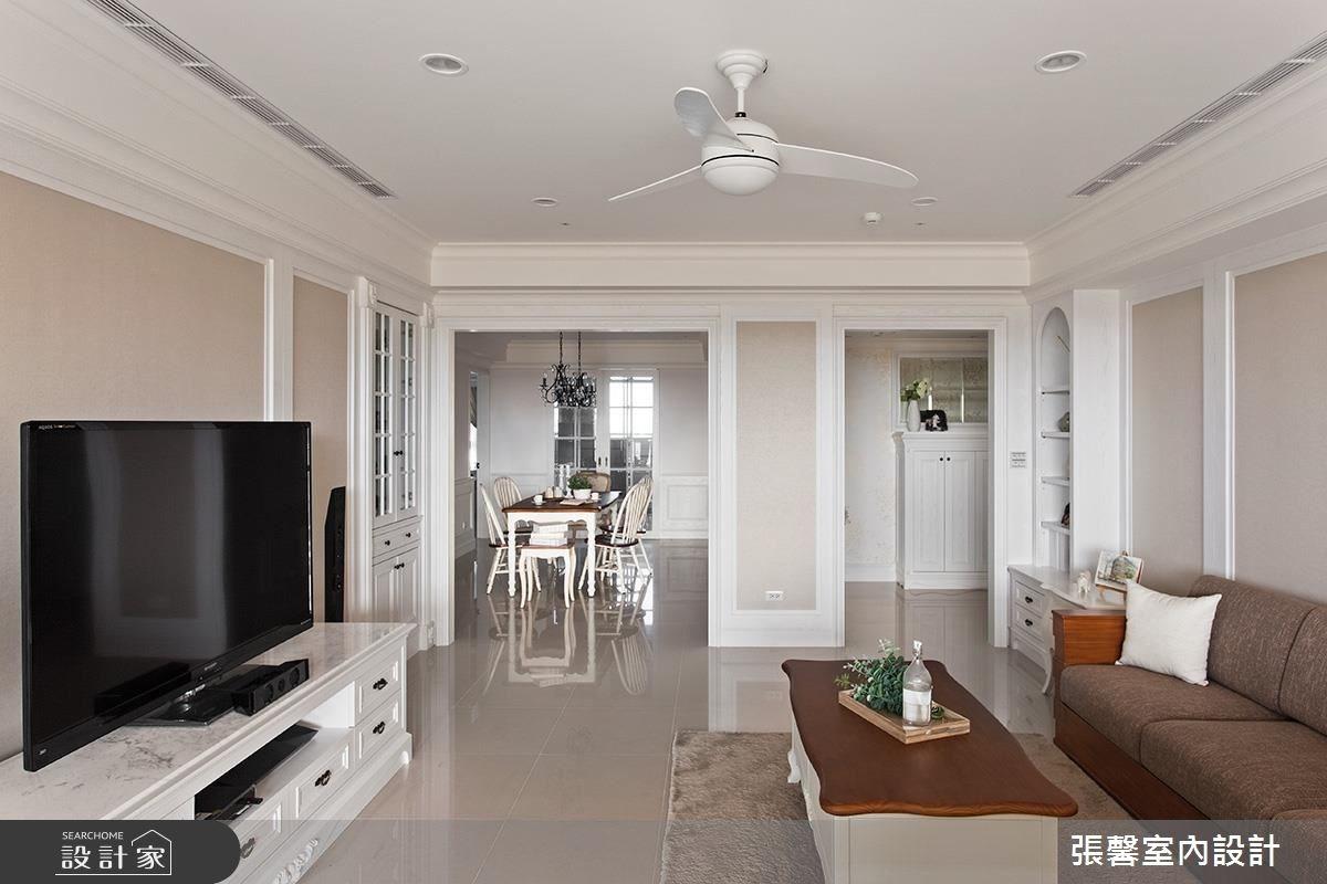 48坪新成屋(5年以下)_美式風客廳案例圖片_瀚觀室內裝修設計工程股份有限公司_張馨_38之2