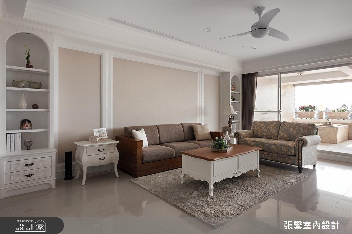48坪新成屋(5年以下)_美式風客廳案例圖片_瀚觀室內裝修設計工程股份有限公司_張馨_38之3