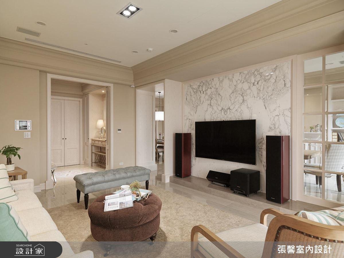 62坪新成屋(5年以下)_新古典客廳案例圖片_瀚觀室內裝修設計工程股份有限公司_張馨_39之3