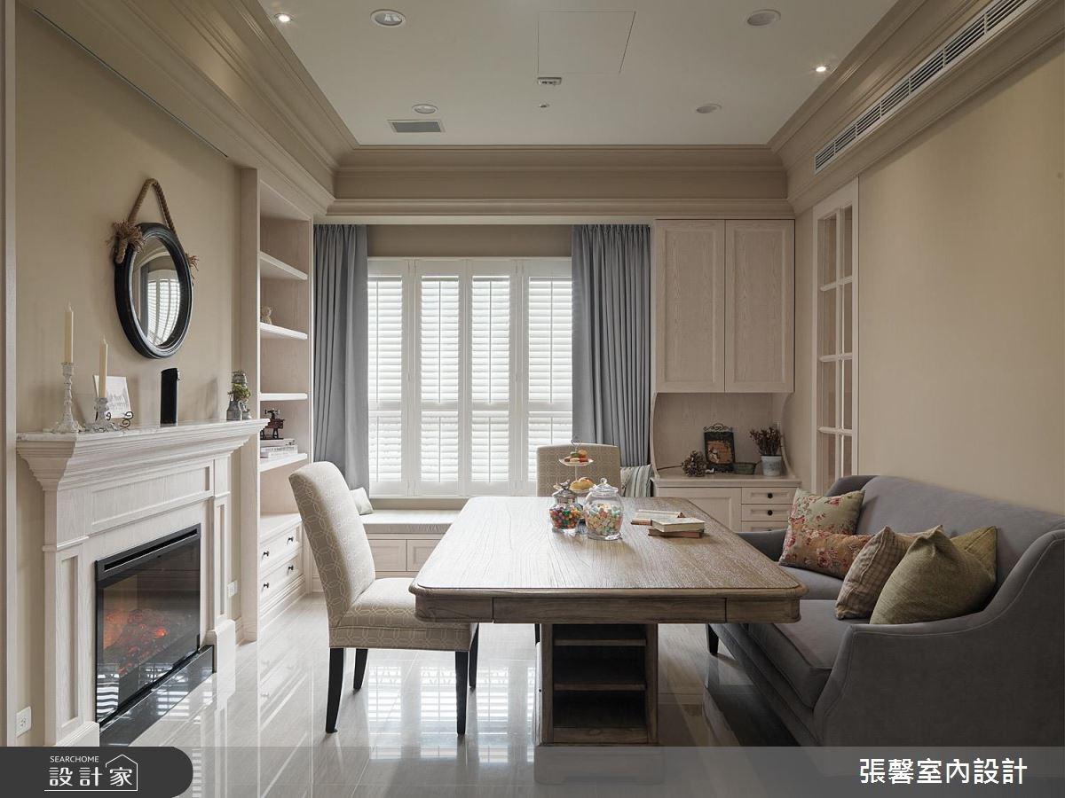 62坪新成屋(5年以下)_新古典客廳案例圖片_瀚觀室內裝修設計工程股份有限公司_張馨_39之4