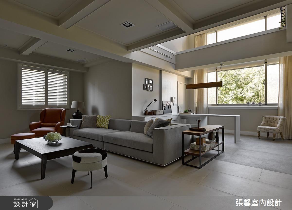 老屋(16~30年)_現代風客廳案例圖片_瀚觀室內裝修設計工程股份有限公司_張馨_40之2